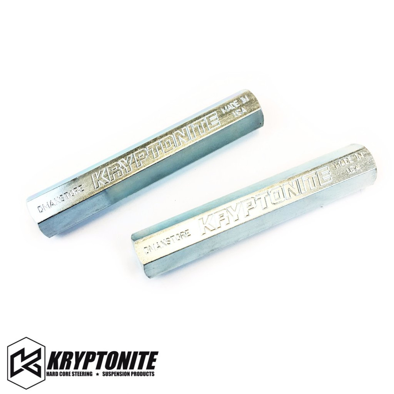 KRYPTONITE SOLID STEEL TIE ROD SLEEVES ZINC PLATED 2011+