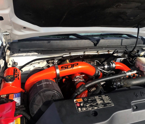 SDP twin turbo kit Duramax LML Illusion Orange compound
