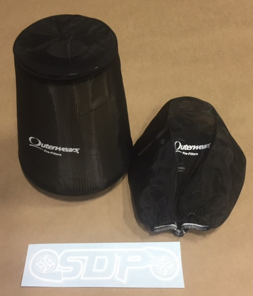 Outerwears filter for SDP twin kit filter