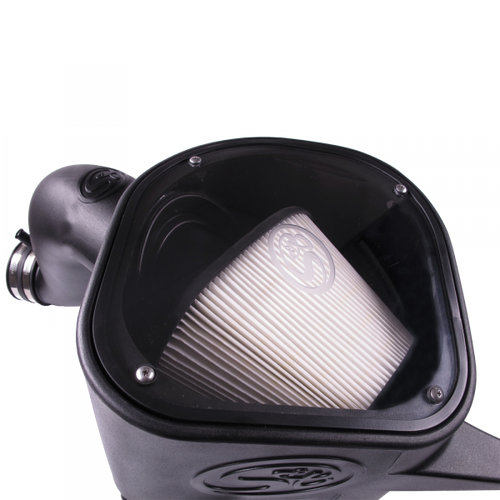 S&B 75-5068D Cold Air Intake w/Dry Filter | 13-18 Dodge 6.7L Cummins