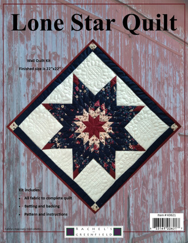 Lone Star - Wall Quilt Kit - K0621