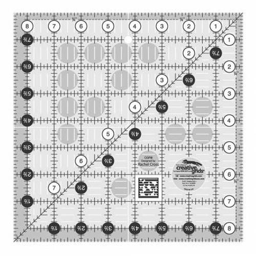 Creative Grids Ruler 8.5x8.5