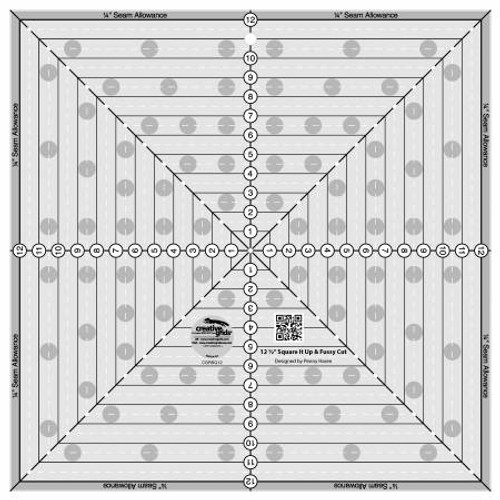 Creative Grids 12-1/2IN Square It Up