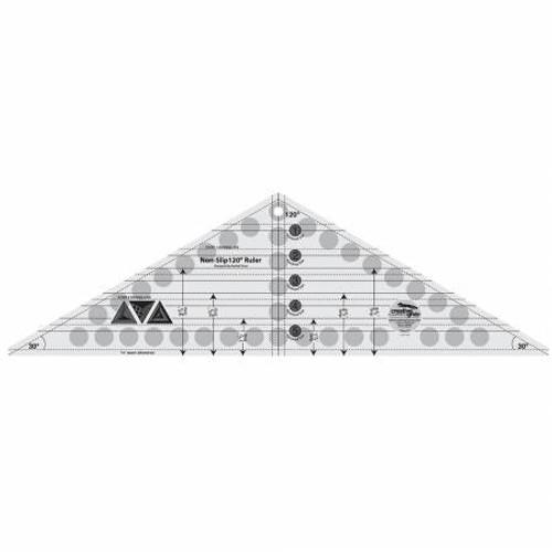 "120 Degree Triangle Ruler 6-1/2""X21-1/2"