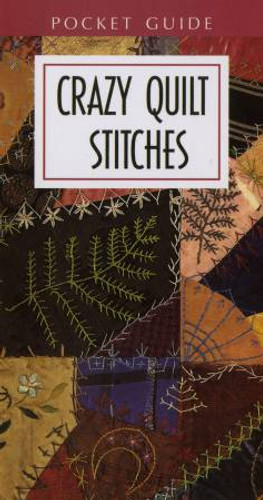 Bk Crazy Quilt Stitches Pocket
