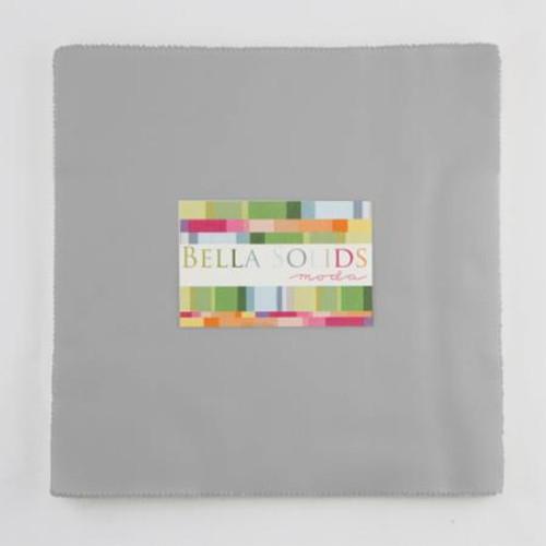 """Bella Solids-Jr. Layer Cake 10""""Square Gray"""