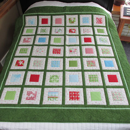 Flurry Throw Quilt - 64 by 72
