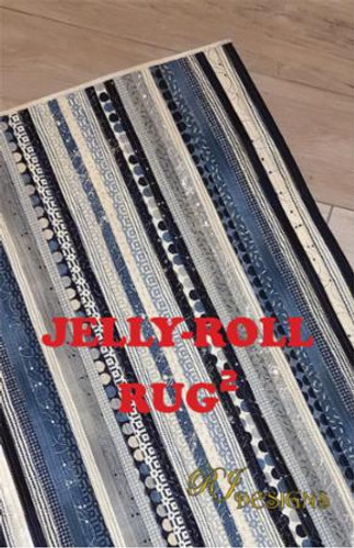 Jelly Roll Rug - Square Pattern