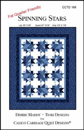 Spinning Star Quilt - Pattern