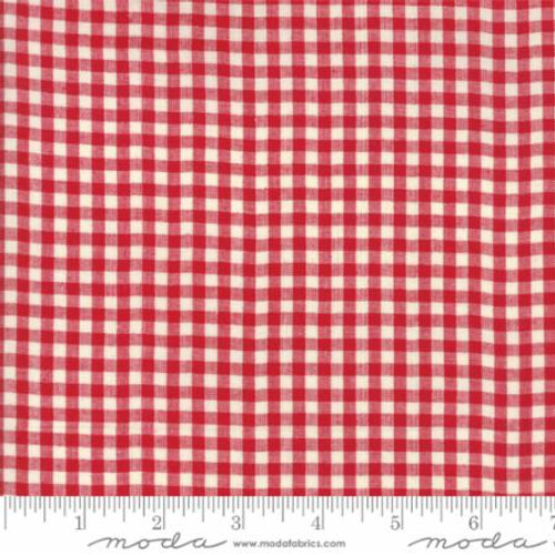 Picnic Basket - Little Check Red