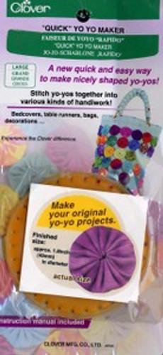 Clover Quick Yo-Yo Maker Large | Helping Hands Quilt Shop in Berlin, Ohio