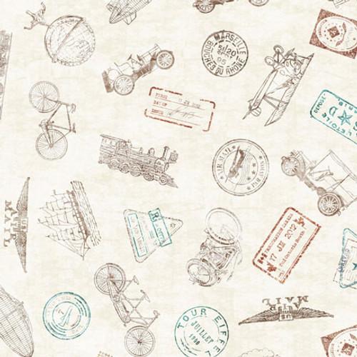 Wanderlust - Passport Stamps