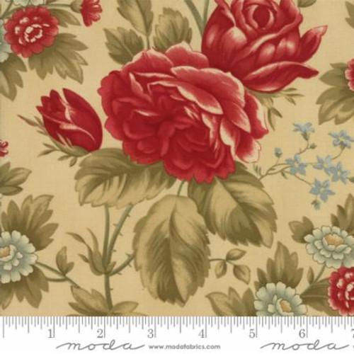 Rosewood - Large Floral Tan