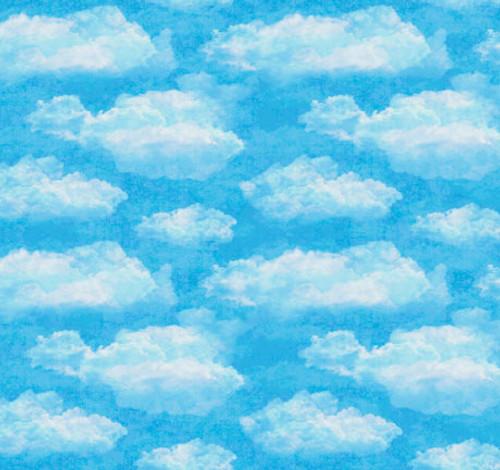 Faith - Clouds Aqua