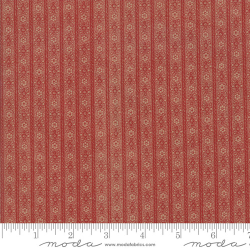 Hickory Road - Stripe Red