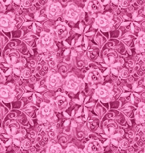 Papillon Parade - Pink Tonal Floral