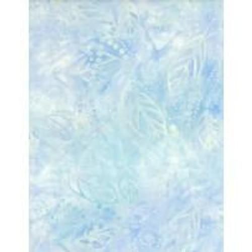 Wilmington Batiks - Light Blue Leaf Print