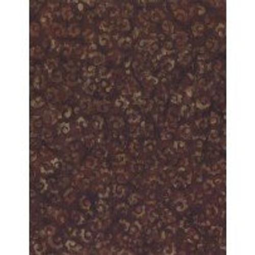 Wilmington Batiks - Dark Brown Print