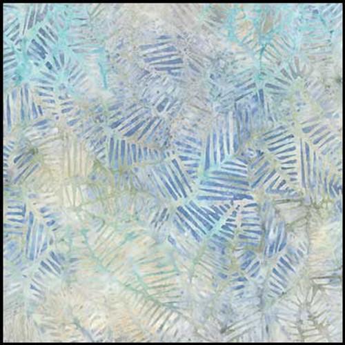 Wilmington Batiks - Light  Blue-Gray Print