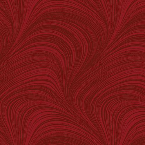 Wave Texture - Medium Red