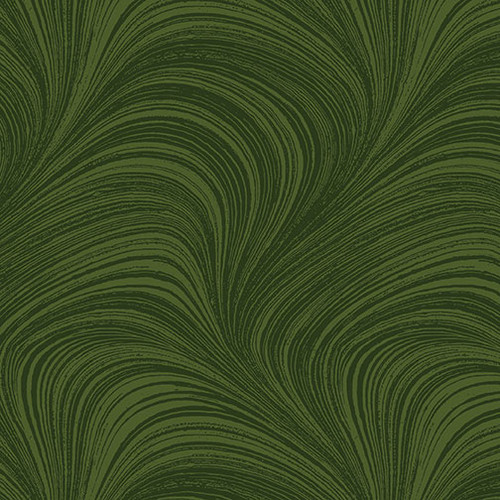 Wave Texture - Forest Green
