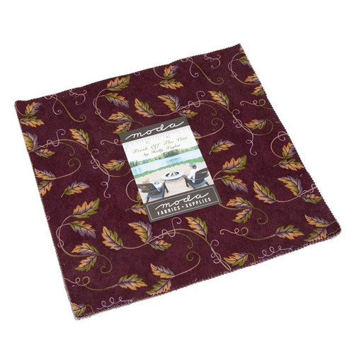 """Fresh Off The Vine Fabric - Layer Cake 10"""" squares"""