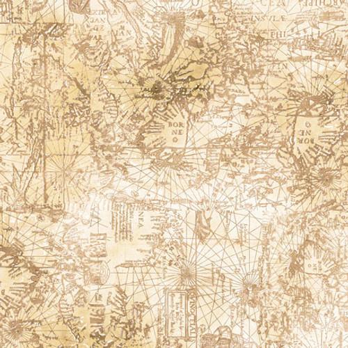 Smooth Sailing - Maps Cream