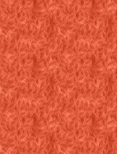 Happy Gatherings - Tonal Leaves Orange