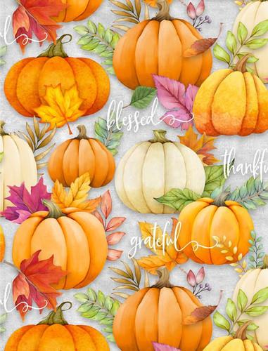 Happy Gatherings - Pumpkins Grey