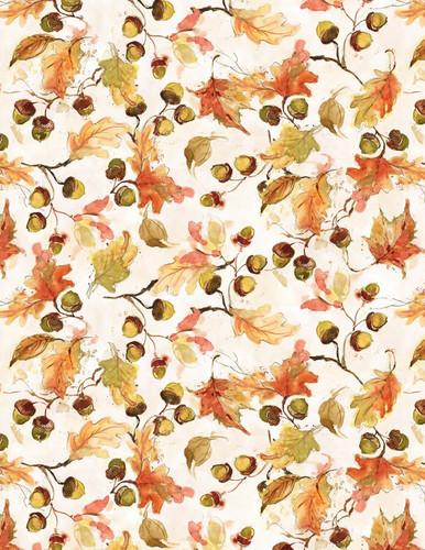 Forest Dance - Leaves Toss Cream