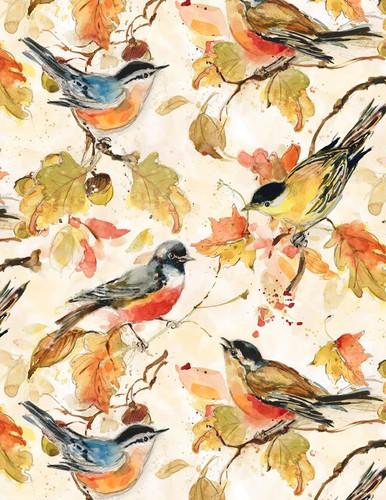 Forest Dance - Birds Cream