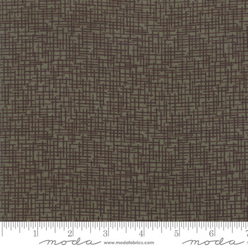 Autumn Green Country Charm Fabric