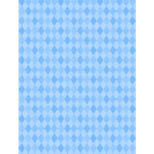 Wilmington Prints Madison Blue Diamonds Tone on Tone Fabric