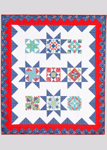 2020 Ohio Amish Country Quilt Shop Hop - Helping Hands Quilt Setting Kit Pattern
