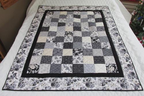 Patchwork Throw/Lap Quilt 48x60