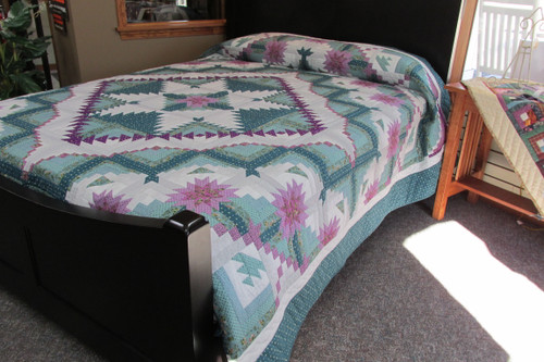 """Eureka Quilt  -  98"""" by 114"""""""