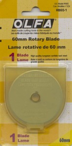 Blade Refill 60MM for Olfa Rotary Cutter  1 count