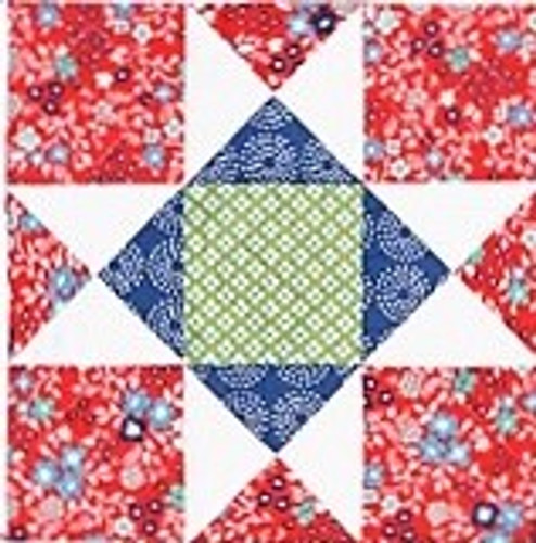 Helping Hands Ohio Star Block Kit - 2020 Ohio Amish Country Quilt Shop Hop
