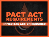 Immediate Action Required! PACT Act Shipping Update