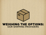 Weighing the Options: Our Shipping Providers