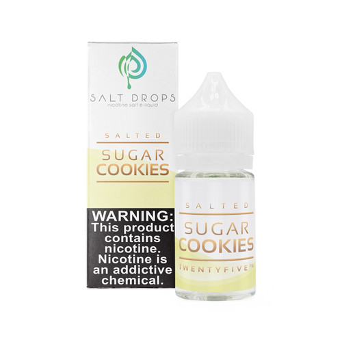 "Salted ""Sugar Cookies"" 30 ml Vape Juice"