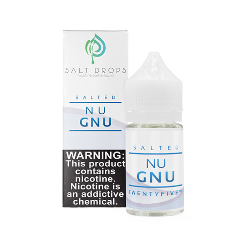 "Salted ""Nu Gnu"" 30 ml Vape Juice"