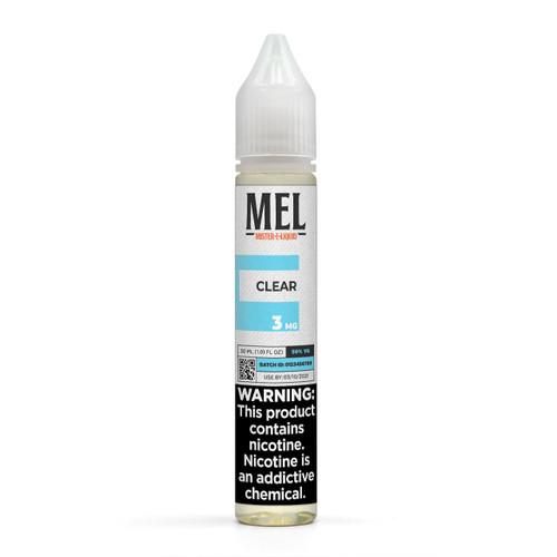 """MEL """"Clear"""" Vape Juice"""