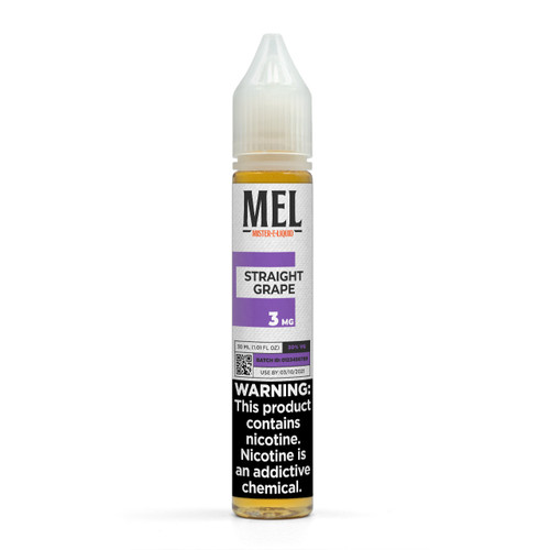 "MEL ""Straight Grape"" Vape Juice"