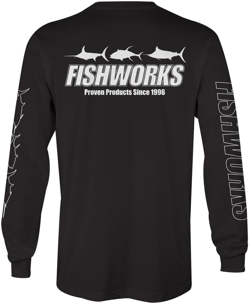 3 Fish Long Sleeve - Black