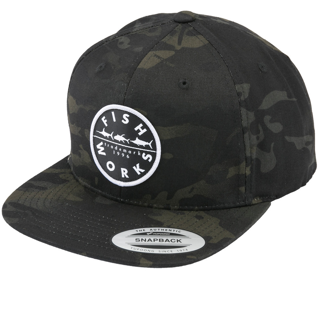 New Original Snapback - Black Multi Camo