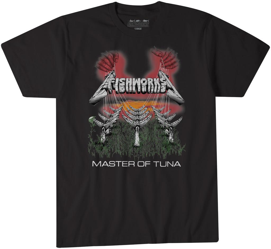 Master Of Tuna Tee - Black