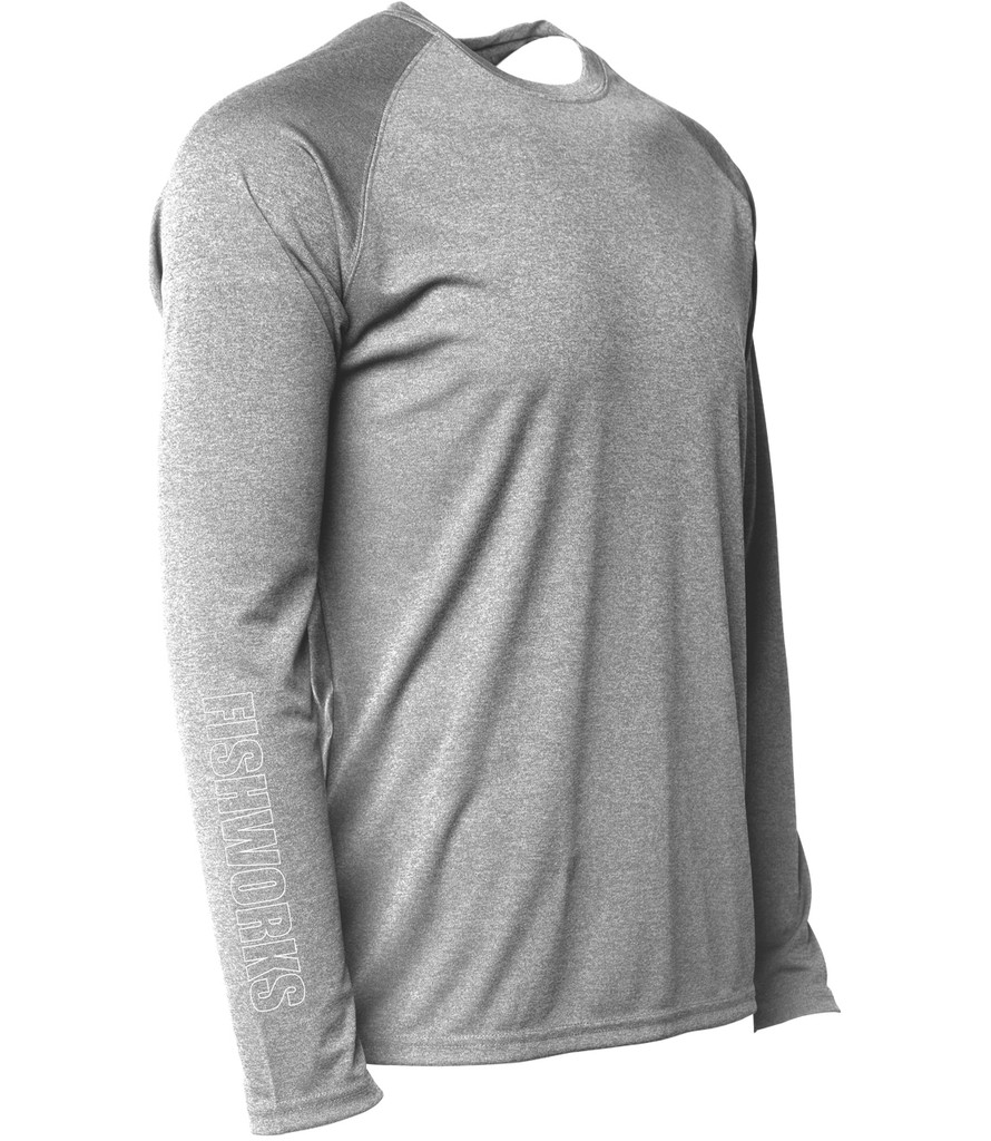 Horizon LongSleeve Sunshirt - Grey Heather