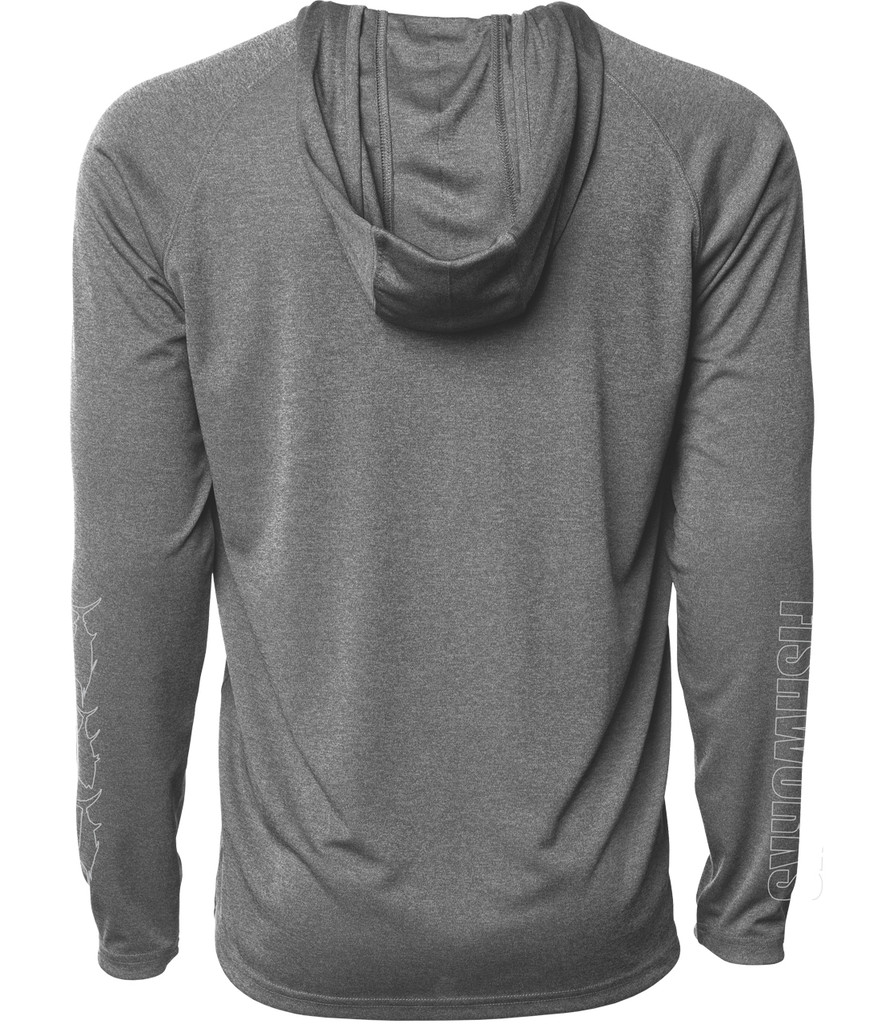 Horizon LongSleeve Hooded Sunshirt - Grey Heather
