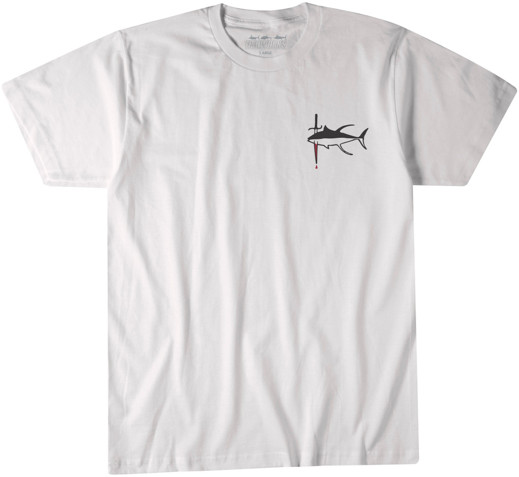 Seared Tuna Tee - White